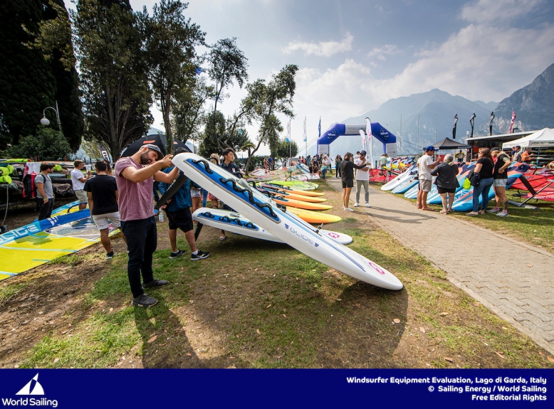 Windsurfer Equipment Evaluation